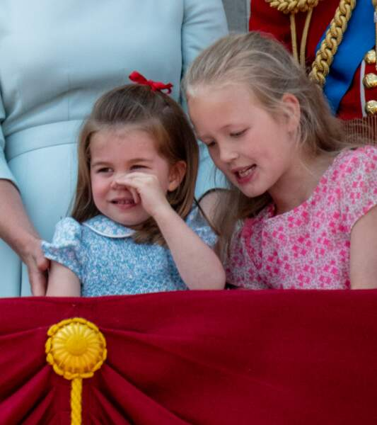 La princesse Charlotte et Savannah