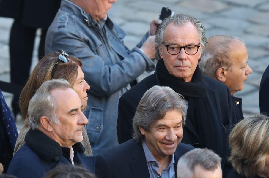 Michel Leeb qui avait passé son dimanche avec Charles Aznavour, avant son décès lors de l'hommage national