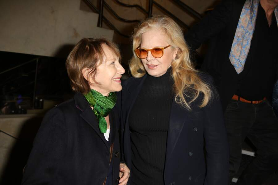 Nathalie Baye et Sylvie Vartan très complices