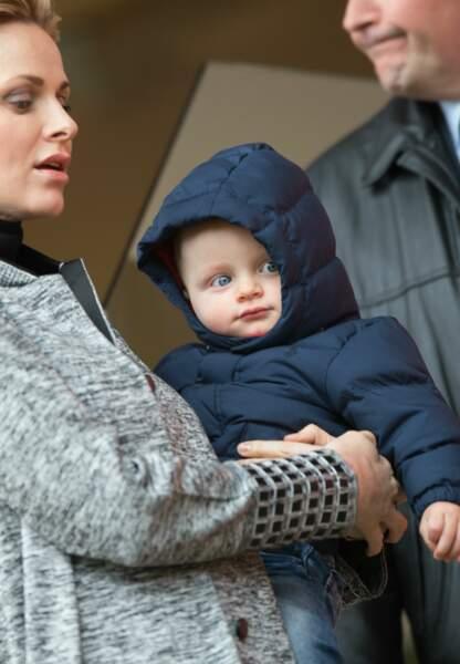 Le prince Jacques a eu 1 an le 10 décembre dernier