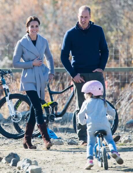 La princesse Charlotte fera, elle aussi, bientôt du vélo
