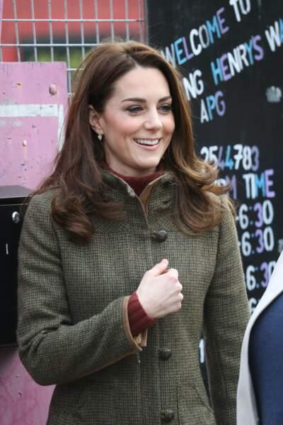 Après une année 2018 consacrée à la naissance du prince Louis, Kate compte intensifier son emploi du temps