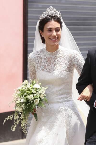 Le chignon avec couronne de Alessandra de Osma