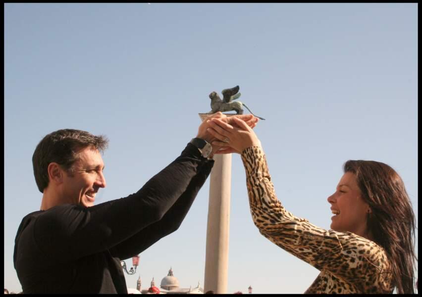 Daniel Ducruet et Kelly Marie Lancien jouent les touristes
