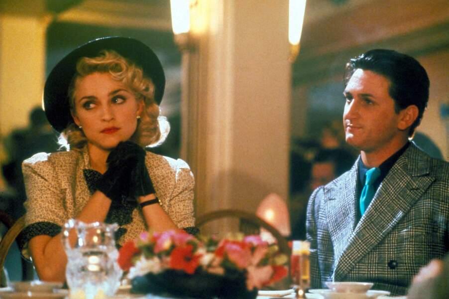 Madonna et Sean Penn dans le film Shanghai Surprise en 1986