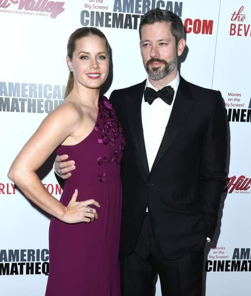 Amy Adams, Darren Le Gallo au Gala de la Cinémathèque Awards à Beverly Hills, le 10 novembre 2017.