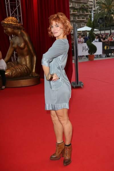 Fauve Hautot au Festival du film de Monte Carlo en juin 2014