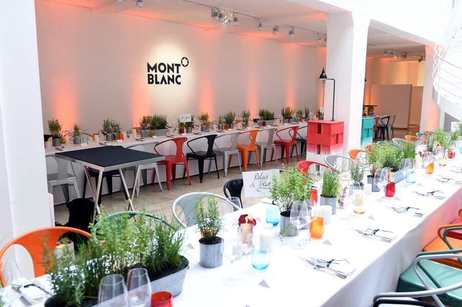 Le dîner avait lieu Galerie Joseph au 116 rue de Turenne