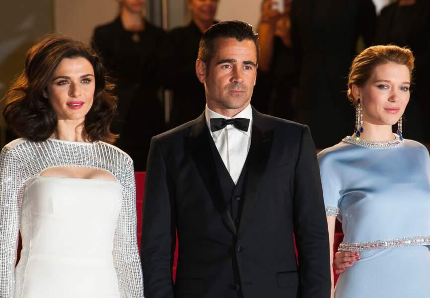 Colin Farrell, Rachel Weisz et Léa Seydoux