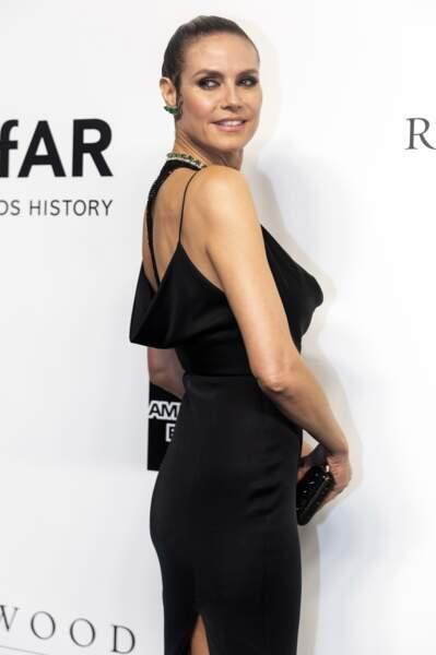 Heidi Klum a fait une apparition éblouissante lors du gala de l'amfAR à Hong Kong le 25 mars 2019.