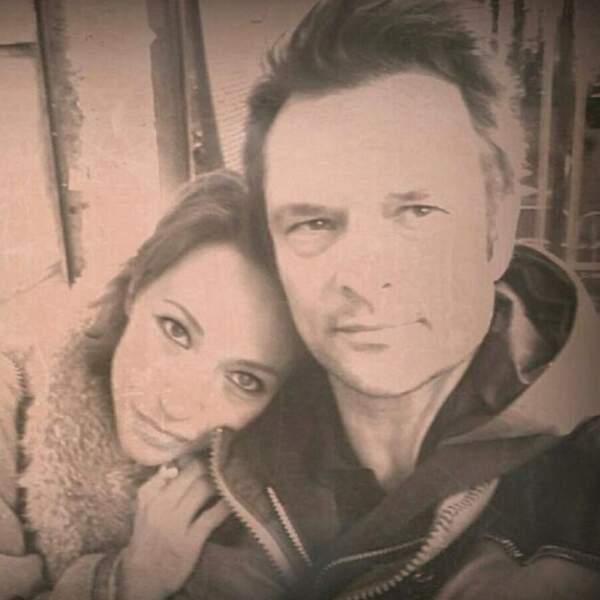 Laura Smet et David Hallyday, très proches, sur cette photo publiée sur Instagram en février 2018