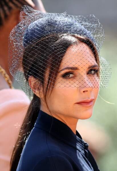 La queue-de-cheval basse de Victoria Beckham pour le mariage de Meghan Markle et du Prince Harry.