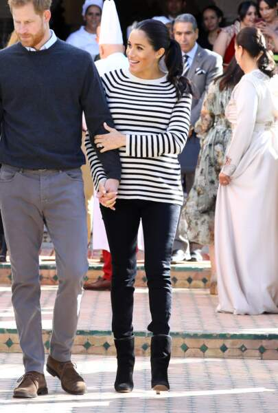 Harry et Meghan en visite à la Villa des Ambassadeur, amoureux comme au premier jour