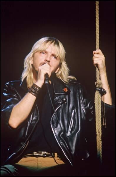 En 1988, sur la scène du Zénith à Paris