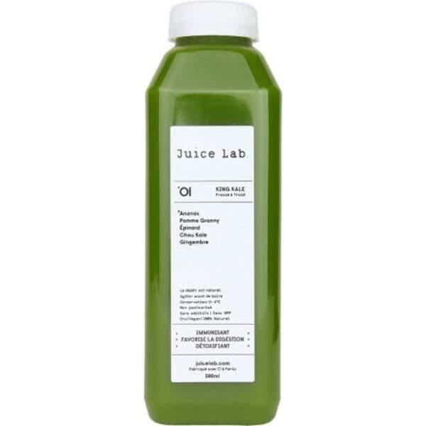 Une cure de jus détox Juice Lab pour rattraper les excès !