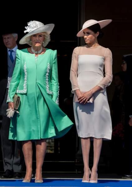 Camilla Parker Bowles et Meghan Markle pour les 70 ans du prince Charles