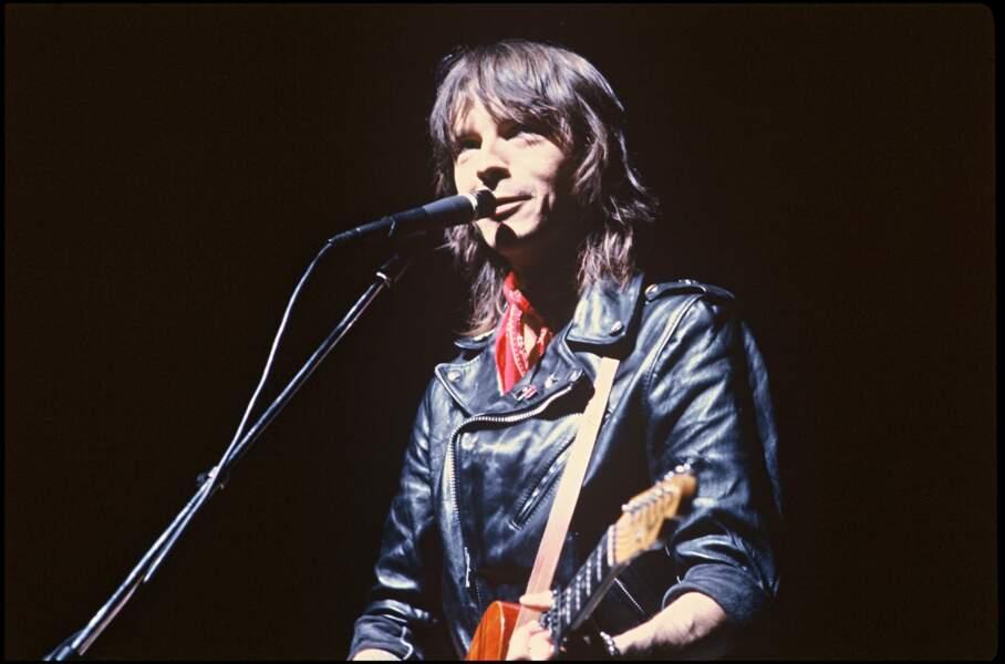 En 1982, sur la scène de l'Olympia, à Paris