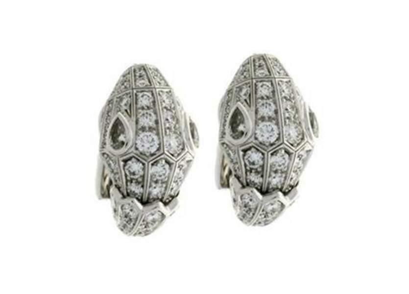 Boucles d'oreilles Serpenti, Haute Joaillerie Bulgari