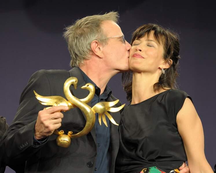 Les amoureux au film romantique de Cabourg...