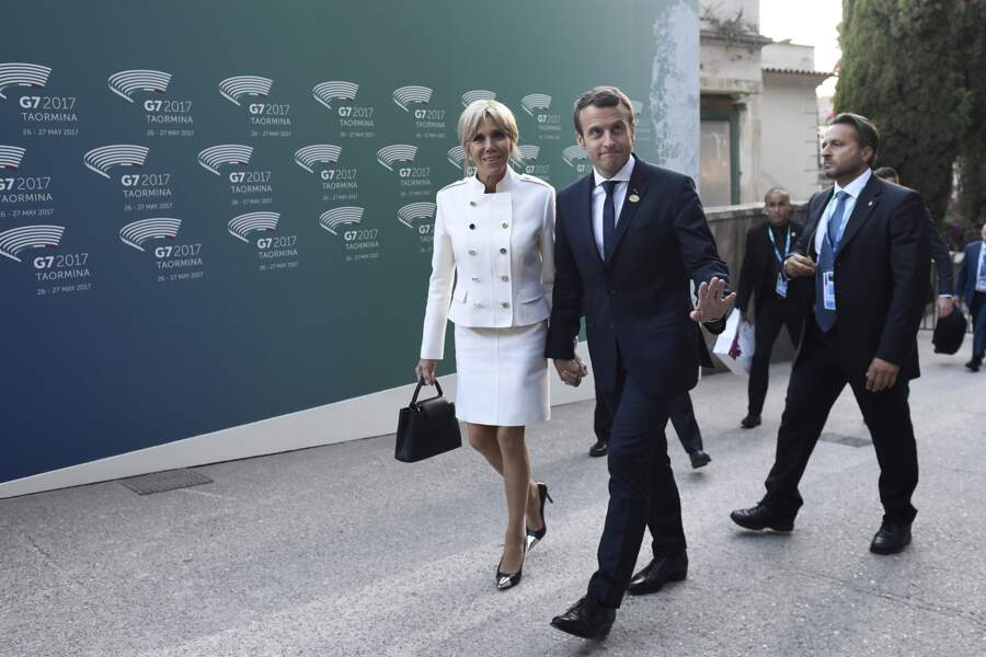 Le couple Macron poursuit son entreprise de charme au G20