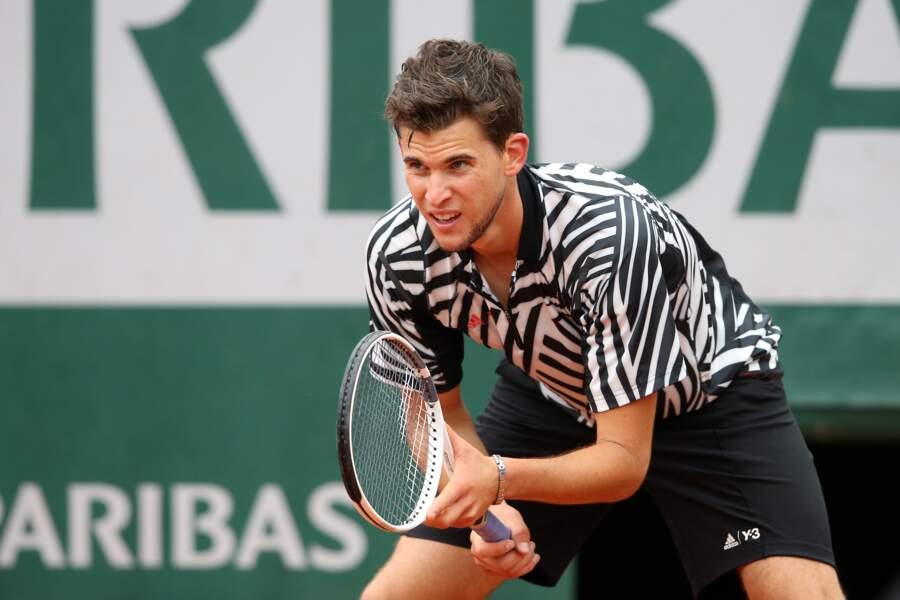 Certains observateurs estiment qu'il pourrait un jour soulever le trophée des Mousquetaires de Roland Garros