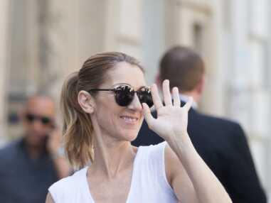 Celine Dion sort de l'hôtel avec Pepe Munoz