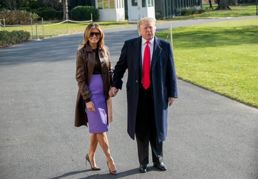 Melania et Donald Trump n'ont jamais autant affiché leur complicité