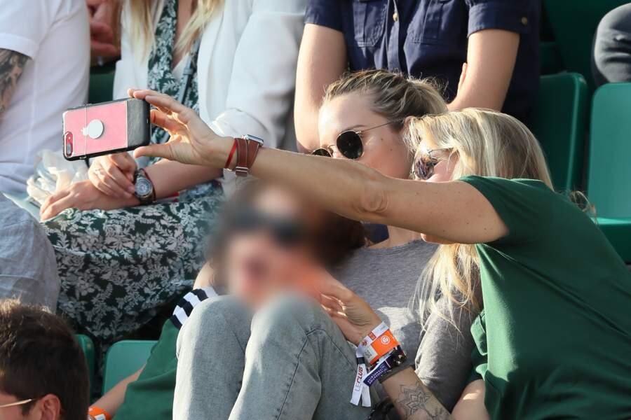 Ils ont même fait un selfie qu'Estelle n'a pas partagé sur les réseaux sociaux