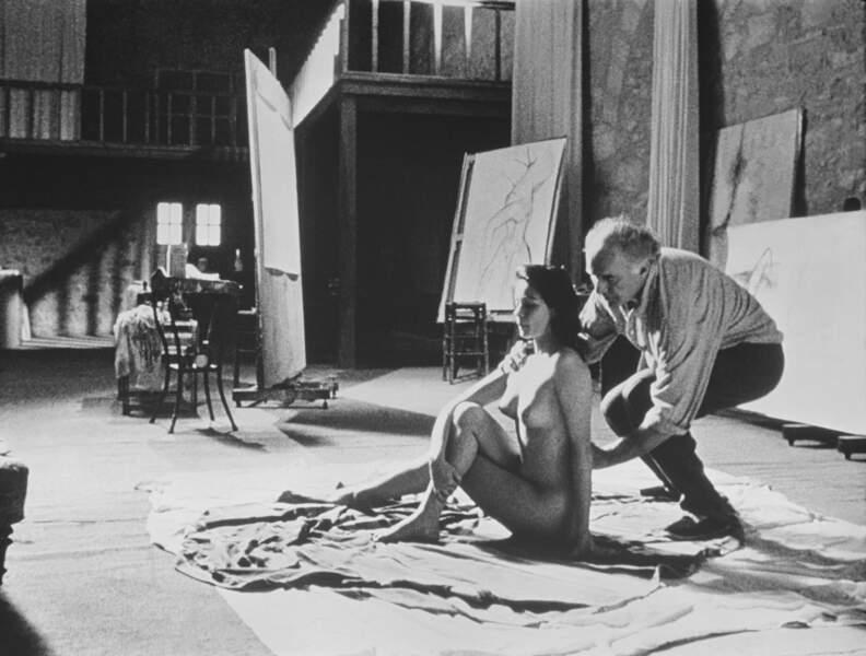 Jacques Rivette dirige Emmanuelle Béart