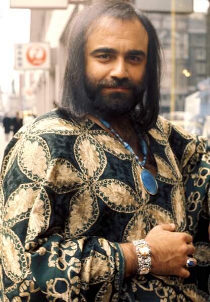 Demis Roussos et son style 1970