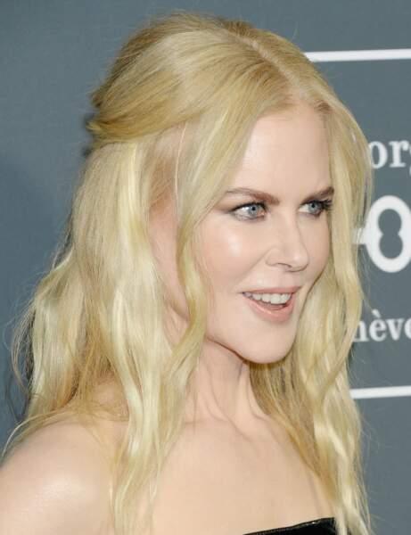 Nicole Kidman, la rousse la plus célèbre d'Hollywood adoucit sa teinte au fil du temps