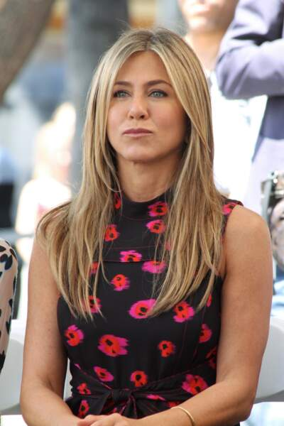Le dégradé blond culte de Jennifer Aniston.