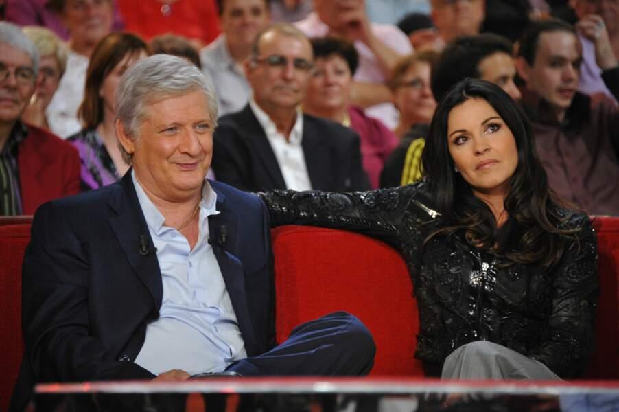 Patrick Sébastien et sa femme Nathalie