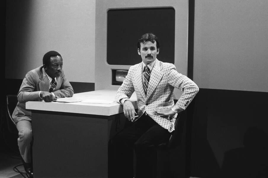 Bill Murray et Garett Morris étaient également des habitués