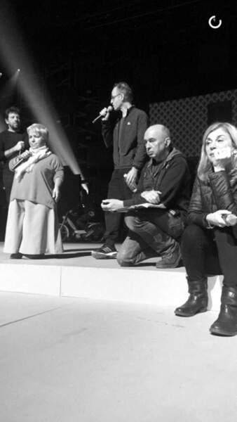 Patrick Bruel, Mimie Mathy, Jean-Jacques Goldman et Michèle Laroque