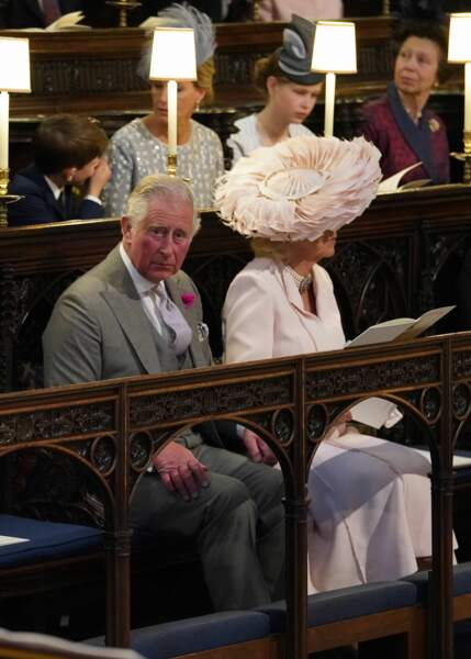 Le prince Charles aux côtés de Camilla Parker Bowles durant la cérémonie