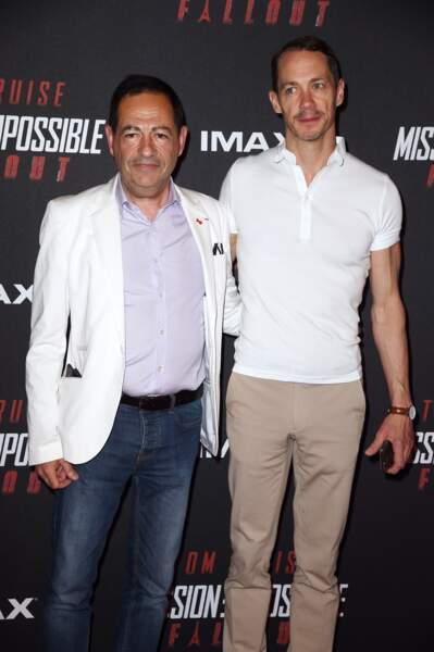 Jean-Luc Romero-Michel et son nouveau compagnon Philippe Lohéac étaient aussi présents.