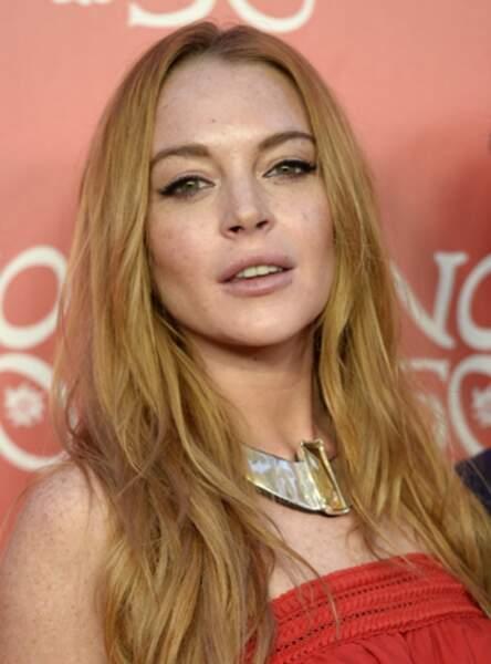 Le liner oeil de biche comme Lindsay Lohan