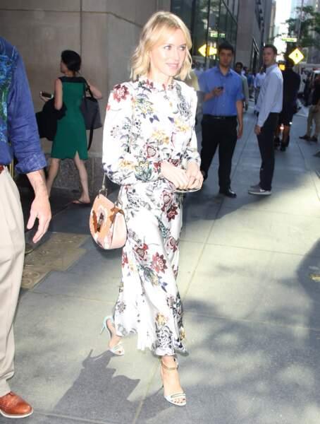 Naomi Watts lors de l'enregistrement du Today Show à New York le 18 mai 2017
