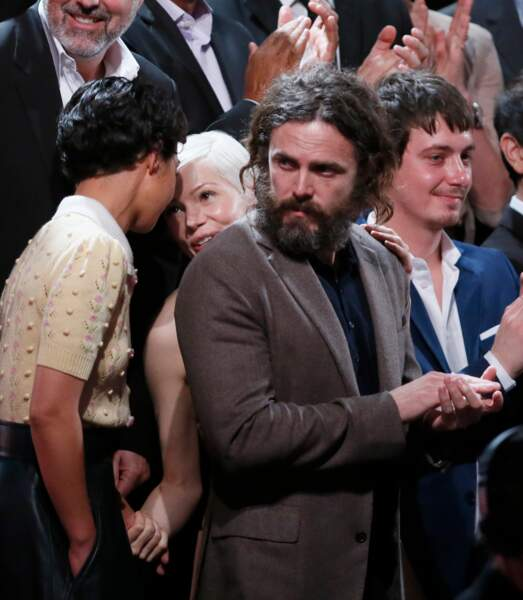 Ruth Negga, Michelle Williams et Casey Affleck
