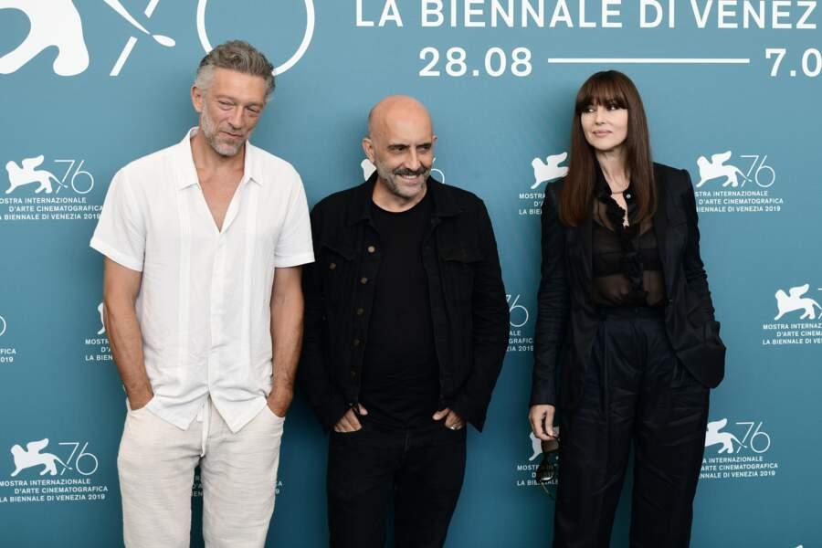 Vincent Cassel et Monica Bellucci ont joué le jeu à la Mostra de Venise