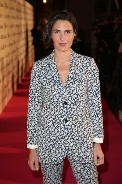 Pour la 26 édition des Trophées du film français, Alessandra Sublet jouait les maitresses de cérémonie