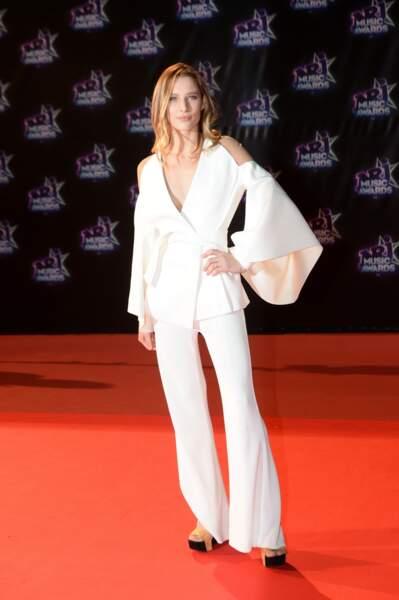 """Ilona Smet lors de la 18ème cérémonie des """"NRJ Music Awards"""" Cannes, le 12 novembre 2016"""