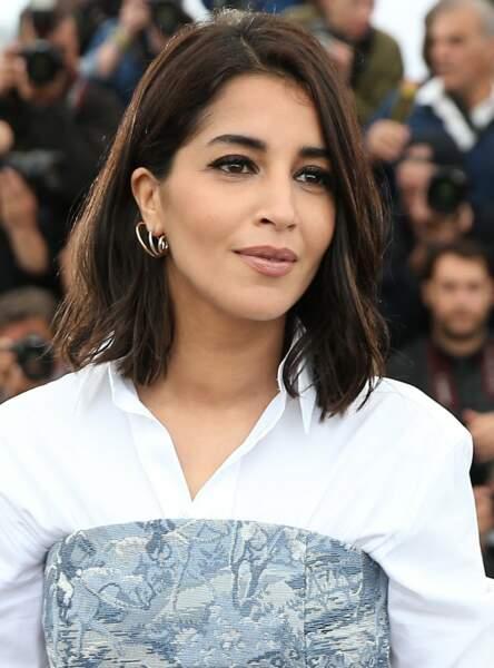 Un carré simple comme Leïla Bekhti