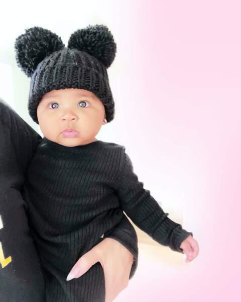 La petite True, fille de Khloe Kardashian, née le 12 avril 2018 et déjà star des réseaux sociaux