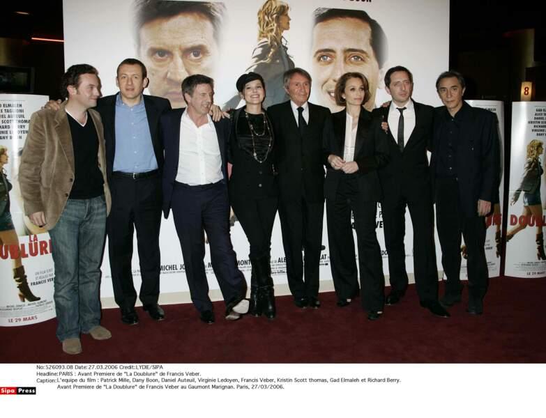En 2005, avec l'équipe du film La Doublure
