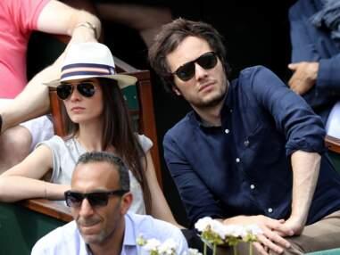 PHOTOS - Vianney et son amoureuse à Roland-Garros