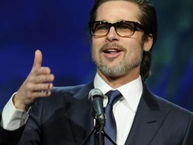 Brad Pitt, papa aux ongles colorés