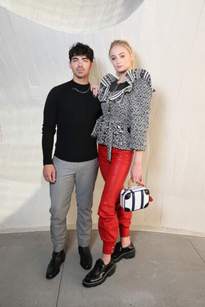 Sophie Turner, la star de Game of Thrones et son mari Joe Jonas