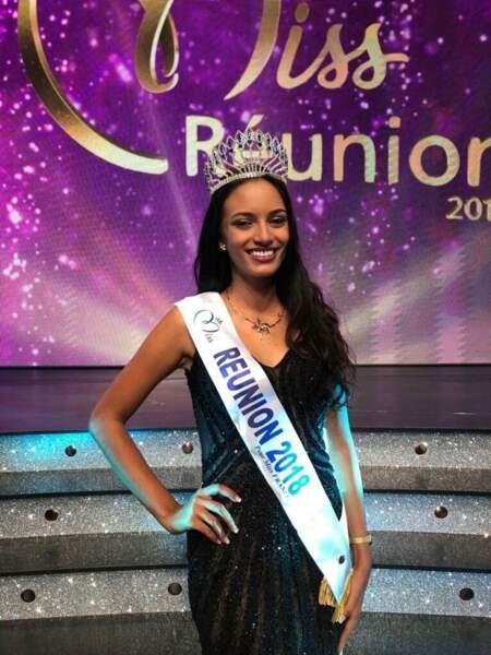 Morgane Soucramanien, 18 ans, a été sacrée Miss Réunion et tentera de devenir Miss France 2019